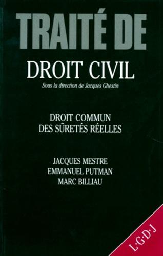 Traite De Droit Civil Droit Commun Des Suretes De Marc Billiau Livre Decitre