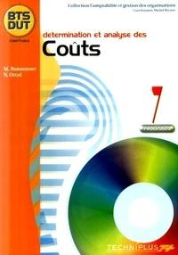 Marc Boissonnet et Nathalie Orcel - Détermination  et analyse des couts Processus 7 BTS DUT comptable.