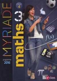 Marc Boullis et Maxime Cambon - Maths 3e Cycle 4 Myriade.