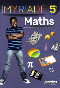 Marc Boullis et Maxime Cambon - Maths 5e Myriade.