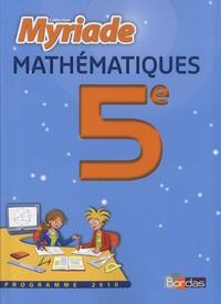 Marc Boullis et Didier Roy - Maths 5e Programme 2010 - Le manuel.