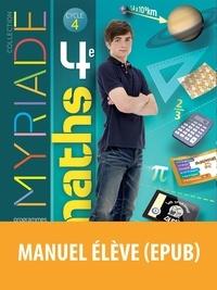 Marc Boullis - Myriade Mathématiques 4e Cycle 4 - Manuel de l'élève.