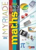 Marc Boullis - Myriade Mathématiques 5e, 4e, 3e - Livre de l'élève.
