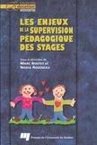Marc Boutet et Nadia Rousseau - Les enjeux de la supervision pédagogique des stages.