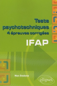 Galabria.be Tests psychotechniques IFAP - 4 épreuves corrigés Image