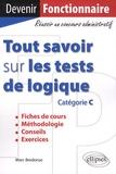 Marc Bredonse - Tout savoir sur les tests de logique (catégorie C).