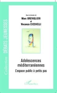Marc Breviglieri et Vincenzo Cicchelli - Adolescences méditerranéennes - L'espace public à petits pas.