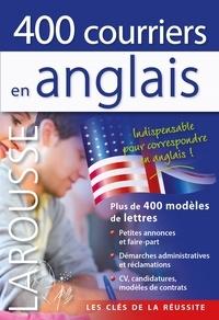 Marc Chabrier et Valérie Katzaros - 400 courriers en anglais.