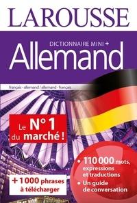 Marc Chabrier et Valérie Katzaros - Dictionnaire mini + allemand.