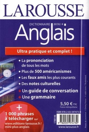 Dictionnaire mini + anglais