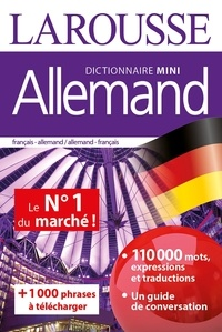 Marc Chabrier et Valérie Katzaros - Mini dictionnaire Allemand - Français-Allemand Allemand-Français.