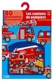 Marc Clamens - Les camions de pompiers - 80 gommettes autocollantes.