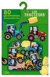 Marc Clamens - Les tracteurs - 80 gommettes autocollantes.