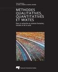 Marc Corbière et Nadine Larivière - Méthodes qualitatives, quantitatives et mixtes - Dans la recherche en sciences humaines, sociales et de la santé.