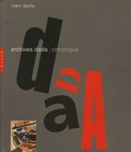 Marc Dachy - Archives Dada - Chronique.