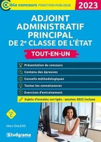 Marc Dalens - Adjoint administratif principal de 2e classe de l'état - 2022.