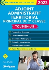 Marc Dalens - Adjoint administratif territorial principal de 2e classe - 2022.