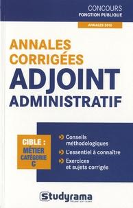 Marc Dalens - Annales corrigées adjoint administratif - Catégorie C.