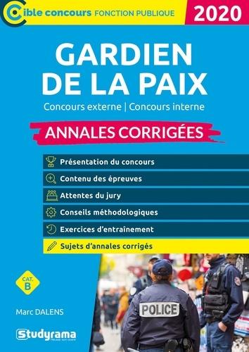 Annales Concours Gardien De La Paix