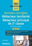 Marc Dalens - Annales corrigées Rédacteur territorial & Rédacteur principal de 2e classe - Concours externe, catégorie B.