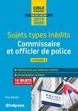 Marc Dalens - Commissaire de police et officier de police - Sujets types inédits, Catégorie A.