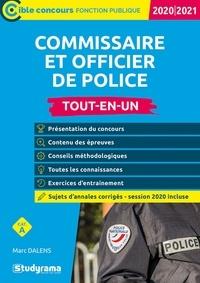 Commissaire de police et officier de police- Tout-en-un - Marc Dalens |