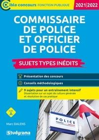 Marc Dalens - Commissaire de police et officier de police - Sujets types inédits.