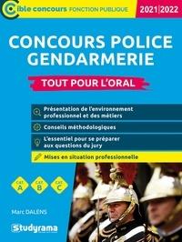 Marc Dalens - Concours police - gendarmerie - Tout pour l'oral.