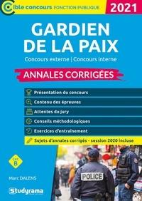 Marc Dalens - Gardien de la paix - Concours externe, concours interne annales corrigées.