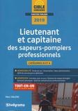 Marc Dalens - Lieutenant et capitaine des sapeurs-pompiers professionnels.