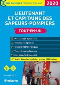 Marc Dalens - Lieutenant et capitaine des sapeurs-pompiers professionnels - Tout-en-un.