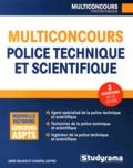 Marc Dalens et Christel Deffes - Multiconcours police technique et scientifique.