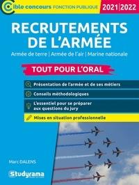 Marc Dalens - Recrutements de l'armée - Tout pour l'oral.