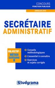 Marc Dalens - Secrétaire administratif - Annales 2010.