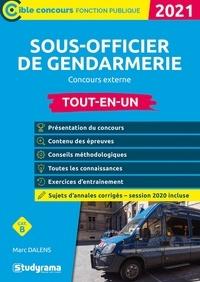 Marc Dalens - Sous-officier de gendarmerie Concours externe - Tout-en-un.