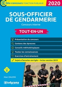 Marc Dalens - Sous-officier de gendarmerie concours interne - Tout-en-un.