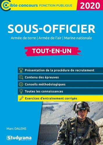 Sous-officier de l'armée. Armée de terre, armée de l'air, marine nationale, tout-en-un  Edition 2020