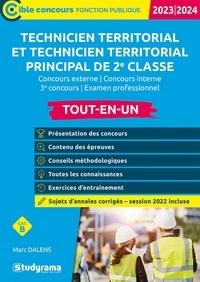 Marc Dalens - Technicien territorial Catégorie B - Tout-en-un inclus annales 2018.