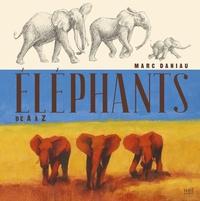 Marc Daniau - Eléphants.