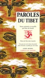 Marc de Smedt et  Collectif - Paroles du Tibet.