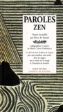Marc de Smedt et  Collectif - Paroles zen.