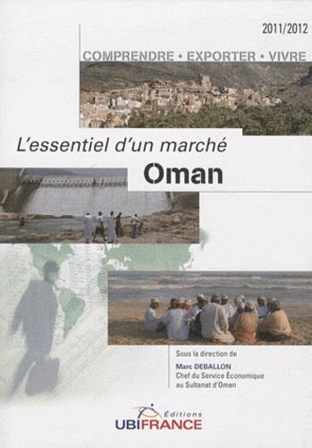 Marc Deballon - Oman.