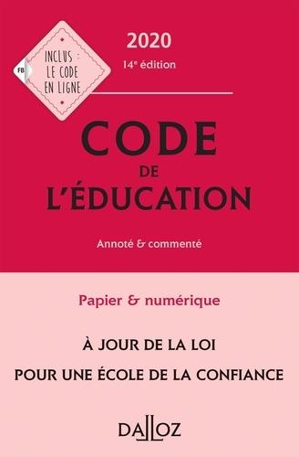 Code de l'éducation commenté édition 2008 - Marc Debène