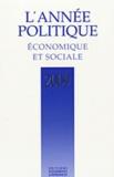 Marc Deby - L'année politique, économique et sociale 2009.