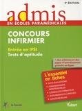 Marc Delabrière - Concours infirmier - Entrée en IFSI - Tests d'aptitude.