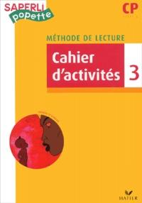 Marc Démarest - Méthode de lecture CP - Cahier d'activités 3.