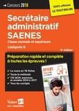 Marc Doucet et Françoise Epinette - Concours Secrétaire administratif SAENES - Classe normale et supérieure. Catégorie B.