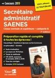 Marc Doucet et Françoise Epinette - Concours secrétaire administratif SAENES - Classe normale et supérieure catégorie B.