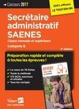 Marc Doucet et Françoise Epinette - Secrétaire administratif SAENES - Classe normale et supérieure catégorie B.