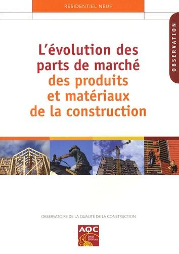 Marc Ducourneau - L'évolution des parts de marché des produits et matériaux de construction.